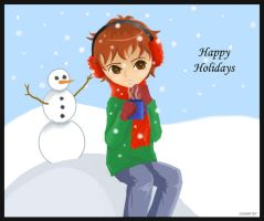 Snowmen and Hot Cocoa by Paramnesia