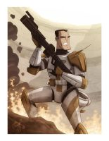 Commander Cody by OtisFrampton