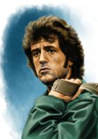 Stallone - First Blood by Az-I-Am