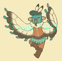kachina doll [design trade] by R-WOLFE