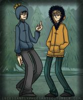 SP: Kenny and Craig by CluelessCaptain