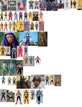 Other Ranger Collage (2013 update) by AdrenalineRush1996