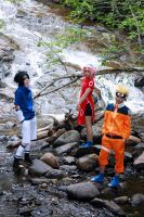 Naruto Group Cosplay by mercaspro