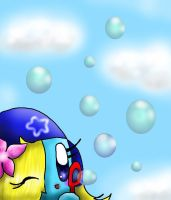 bubbles by Evomanaphy