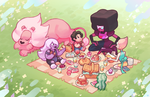 gem picnic by genicecream
