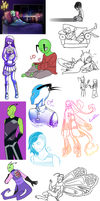 Sketchdump - old random stuffs by serenadefox