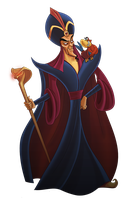 Disney Villain Jafar by StevenRayBrown