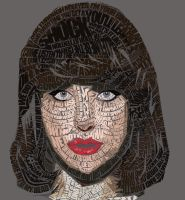 Typographic Portrait: Kimbra by Sheik007