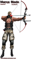 ID Krauser RE4 by marcoblade