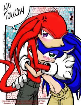 Our Mascot 'No touchy' by Sonic-Yaoi-Fanclub