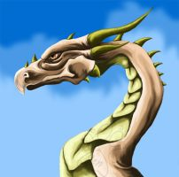 The Dragon by JenTheThirdGal