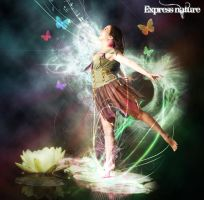 Express nature by Ellie--Jelly
