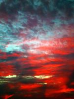 Red Skies Close-Up by CASPeR3