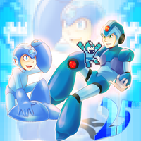 megaman megaman by HylianGuardians
