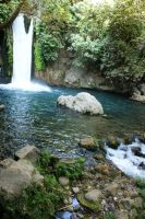 banyas waterfall by picture-melanie