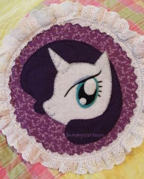 Rarity embroidery art by usamimi