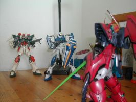 Gundam Epyon Vs Dual and Buste by Deadman0087