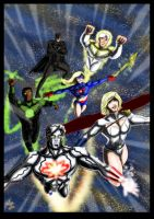 Another Justice League by adamantis