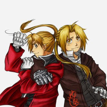 Elric brothers by Chengggg