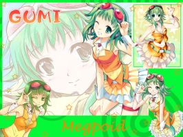 GUMI wallpaer by ShaniaKeehl
