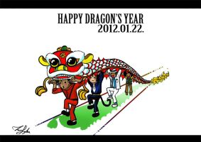 Happy Dragon's Year by Dew-Sama