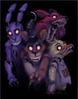 rabid five nights at Freddy's by newchazzy