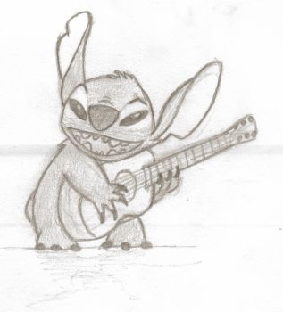 Stitch Guitar by Reeeen0690