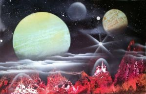 space art 15 by JessicaSoulier