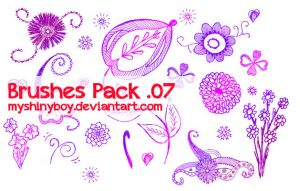 Brushes Pack .07 by MyShinyBoy