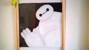 Baymax the oil painting by WhitePearl09