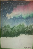 Aceo - Painting the sky by Liekkilaulu
