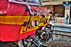 Train - HDR by eztec