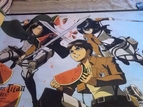 Attack on watermelon poster by SeiandAoba