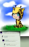 Adam the giraffe (TKTR) by Dandelion231