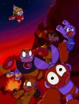 Mega Man Tribute Entry Yay by BlueDubia