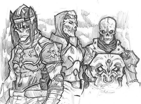 The Dead Knights by ronaproject