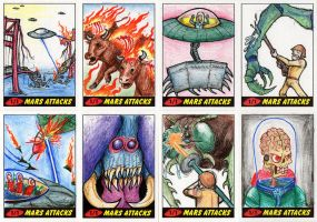 Heritage Mars Attacks! Sketch Cards - 11 by Monster-Man-08