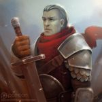 Rusted Knight by Sephiroth-Art
