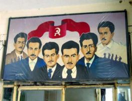 Portrait of leaders of the Iraqi Communist Party by YamaLama1986