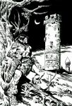CONAN AND THE TOWER by benitogallego