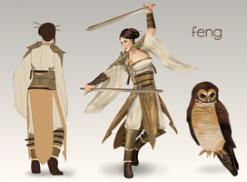 Feng by adelruna