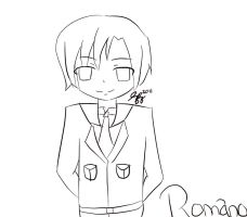 Romano lineart -preview- by thegirlsgeneration89