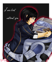 I was lost without you-ME by Tsukahime