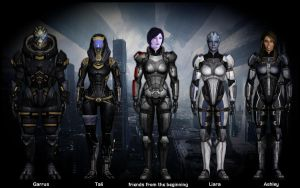My Mass Effect 3 Team by DesignMomma