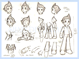 Astro boy -movie char-sheet- by shazy