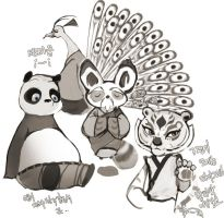 kungfu panda fanart by wish114