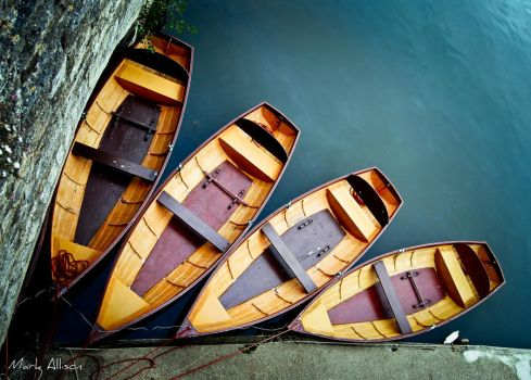 Rowing boats 3 by Mark-Allison