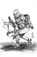 Clone Trooper Bounty Hunter - Talon - Egli - Inks by SurfTiki