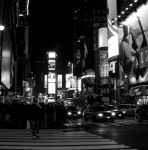Time Square Black And White by Rainbow826