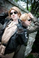 Hetalia: Badass Bros. USUK by LiquidCocaine-Photos